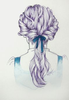 all you do is curl, twist on the sides and pull back with a hair tie