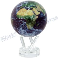 "MOVA 4.5"" Blue Ocean Natural Earth Desk Globe from World Globe Universe."