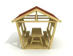 picnic shelter plans | PICNIC TABLE WITH ROOF « PICNIC TABLES ...