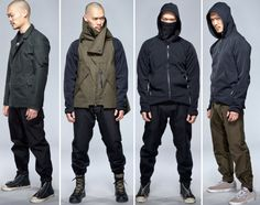 The #Occupy collection? Anarchist street couture. :D   ACRONYM   Fall/Winter 2012 Collection Lookbook