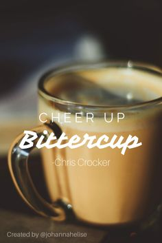 A chris crocker quote!