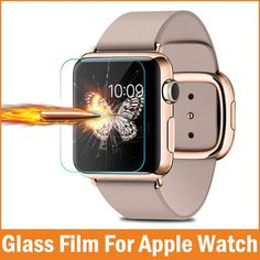 >> Click to Buy << 0.26mm Nano-coated Tempered Glass for Apple Watch Screen Protector 42mm 38mm Smart watch Premium Film Accessories film de verre #Affiliate