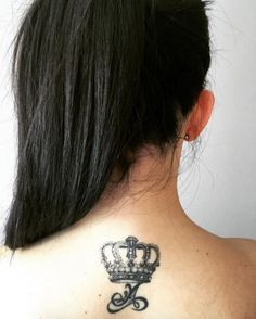 110 Graceful Crown Tattoos Designs And Meanings cool  Check more at http://fabulousdesign.net/crown-tattoos-meanings/