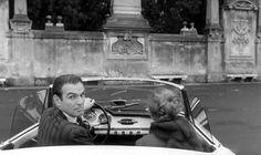 Stanley Baker et Jeanne Moreau dans EVA film de Joseph Losey 1962 #alfaromeo