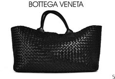 Authentic Bottega Veneta Tote Bag Black Pouch Leather - LIMITED EDITION in Clothing, Shoes & Accessories, Women's Handbags & Bags, Handbags & Purses | eBay Large Women, Women's Handbags, Black Tote Bag, Leather Pouch, Bottega Veneta, Birkin, Wallets, Glamour, Purses