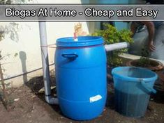 Biogas At Home - Cheap and Easy [important]Make sure youlikeliving green and frugally on Facebookandfollow us on Pinterestto be updated every time we find a great tutorial[/important] So what is Biogas? Biogas is a biofuel and it generally refers to the gas produced from organic matter as …