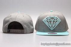 Cheap Wholesale Diamond Supply Co Snapback Hats Caps Gray Cyan Green for slae at US$8.90 #snapbackhats #snapbacks #hiphop #popular #hiphocap #sportscaps #fashioncaps #baseballcap