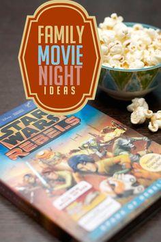 Family movie night fun via @spaceshipslb