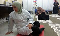 The Gaza Strip conflict has created scores of traumatized victims throughout history, but yoga and meditation help ease their pain.