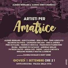 Claudia Grohovaz: ARTISTI PER AMATRICE - Giovedì 1 settembre a Civit...