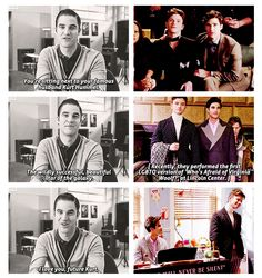 3 things Blaine wanted out of his life: to make art, help people, and love Kurt. Check, check, and double check, thank you very much, and no one's happier about this than me. Especially that third check... ❤️❤️❤️