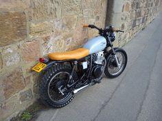 Suzuki GN 250 Street tracker style, cafe racer custom bobber classic brat | eBay