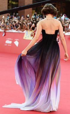 Lily Collins's Elie Saab dress left us breathless.