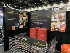 Trade Show exhibit signage for Manuka Engineering by CIP Design Studio.