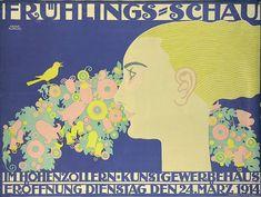 Klinger, Julius (1876-1942), Frühlings-Schau, 1914