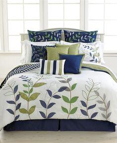 Darjeeling 12 Piece Comforter Sets - Bed in a Bag - Bed & Bath - Macy's