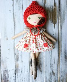 Summer in the Forest Collection by SpunCandy Handmade Dolls  See this Instagram photo by @spuncandydolls • 155 likes