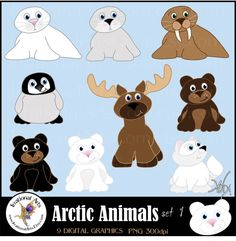 Check out our arctic animals selection for the very best in unique or custom, handmade pieces from our shops. Animal Crafts For Kids, Art For Kids, Head Start Classroom, Classroom Door, Bjd, Cubby Tags, Baby Harp Seal, Artic Animals, Arctic Fox