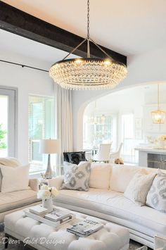 9 Best Chandelier in living room images | House design ...
