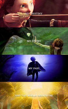 My destiny, my enemy, my past, & the world around me. Disney Pixar, Sad Disney, Disney Memes, Disney Films, Disney Quotes, Disney And Dreamworks, Disney Animation, Disney Love, Disney Magic