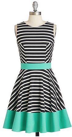 Chic stripes!