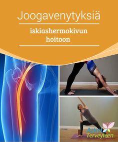 Joogavenytyksiä iskiashermokivun hoitoon   Joogaharjoitukset voivat auttaa asteittain työstämään lihaksia, ja niiden harjoittaminen säännöllisesti voi helpottaa iskiashermokipua.  #Mielenkiintoistatietoa