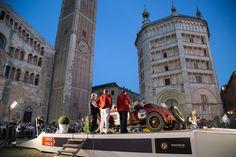 21 Maggio: a Parma una festa lunga tutto il giorno accoglie la tappa in città della 34esima edizione della Mille Miglia.