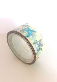 Ruban adhésif kawaii Totoro : Masking tape par mipouni81