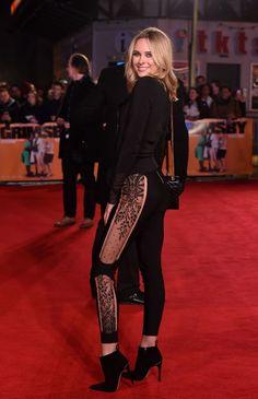 Kimberley Garner.. Career Inspiration, Celebrity Style Inspiration, Fashion Inspiration, Kimberley Garner, Lace Leggings, Perfect Figure, Blonde Beauty, Pretty Woman, Dress To Impress