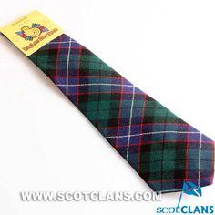 Tartan Tie in Russell / Mitchell / Galbraith Tartan