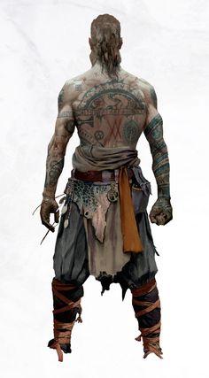 God of War,Игры,baldur,Игровой арт,game art