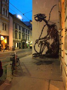 Street art by ROA!