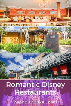 Romantic Disney Restaurants