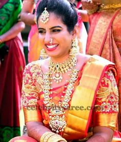 Wedding Blouse by Swetha Reddy | Saree Blouse Patterns