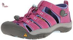 Keen , Sandales pour fille Rose Dahlia Mauve/Periwinkle - Rose - Dahlia Mauve/Periwinkle, Taille 38 EU - Chaussures keen (*Partner-Link)