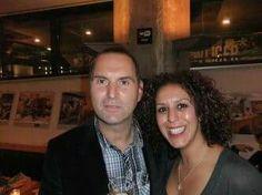 Met Raoel Heertje.  Lancering top 100 in 2010