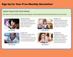 Sign Up for Scholastic's Teacher Newsletter
