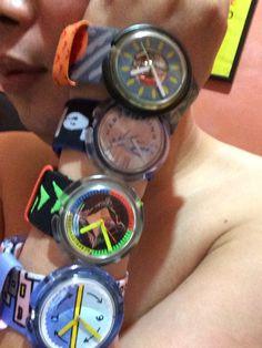 My pop swatches