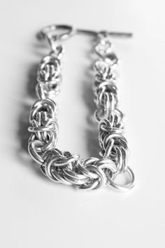 Sterling Silver Custom Made To Order Chainmaille Jewelry
