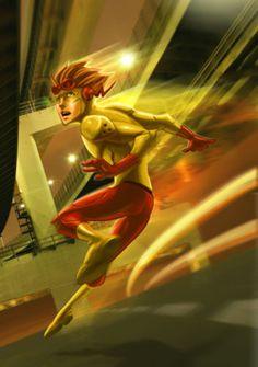 Wally West/Kid Flash/Flash III/Dark Flash/Kid Lantern /  Powers-                                                                 Super Speed, Time Travel, Green Lantern Ring, Vibration Through Solid Objects