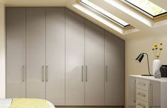 Fitted loft wardrobes