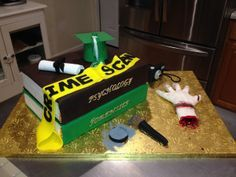 Forensic Psychology cake