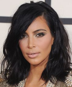 How to Get Kim Kardashian's Sultry Red Carpet Hair and makeup