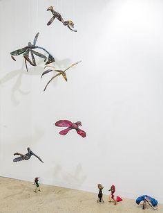 Anna Boghiguian, Birds, 2013