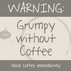coffee...all the girls at MA should just wear signs that say this
