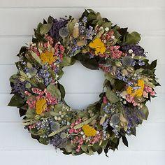 Lavender Flowers Wreath from Terrain