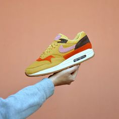 quality design 86203 f7846 Pack Nike Air Max 1 Crepe Obsidian et Wheat   Sneakers