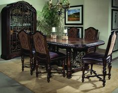 Shop this a. furniture valencia 45 x 76 rectangular gathering height dining table from our top selling A. LuxeDecor is your premier online showroom for dining room furniture and high-end home decor. Dinning Room Sets, Counter Height Dining Table, Extendable Dining Table, Dining Table In Kitchen, Dining Rooms, Fine Dining, Art Furniture, Dining Room Furniture, Dining Chairs