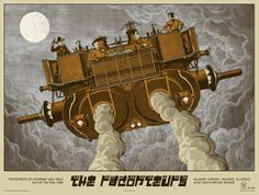 the raconteurs space cowboys poster
