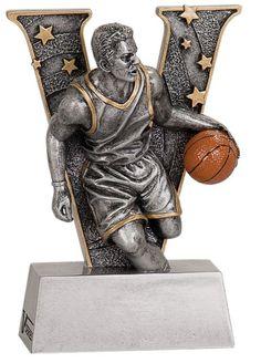 WHOLESALE Lot of 12 Male Basketball Trophy Award $5.99 ea. FREE Shipping V702